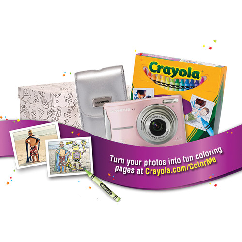 how to use crayola digital camera