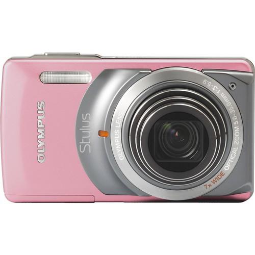 Olympus Stylus 7010 Digital Camera (Pink)