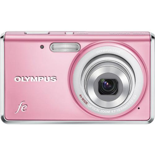 Olympus FE-4020 Digital Camera (Light Pink)