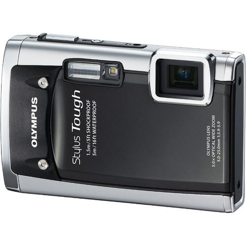 Olympus Stylus Tough-6020 Digital Camera (Black)