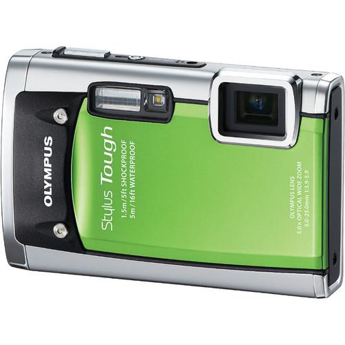 Olympus Stylus Tough-6020 Digital Camera (Green)