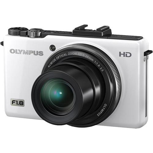 Olympus XZ-1 10MP Digital Camera (White)