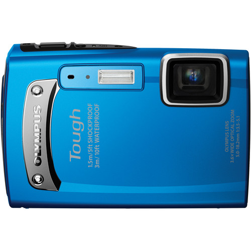 Olympus TG-310 Digital Camera (Blue)