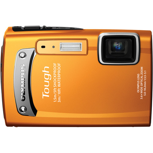 Olympus TG-310 Digital Camera (Orange)