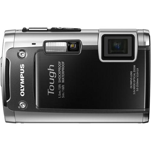 Olympus TG-610 Digital Camera (Black)