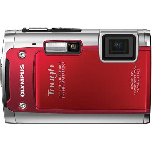 Olympus TG-610 Digital Camera (Red)