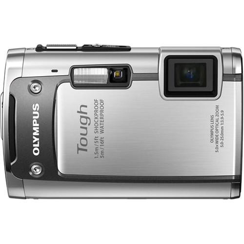 Olympus TG-610 Digital Camera (Silver)