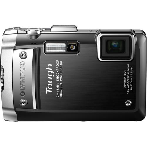 Olympus Tough TG-810 Digital Camera (Black)