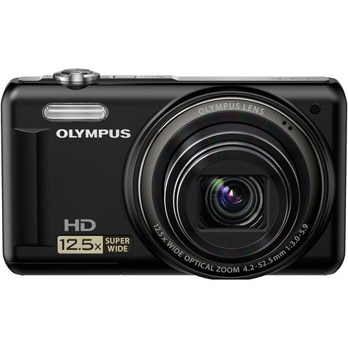 Olympus VR-320 Digital Camera (Black)