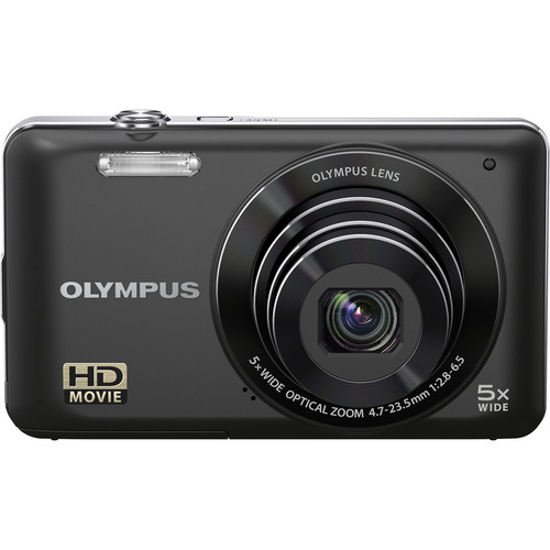 Olympus VG-120 Digital Camera (Black)