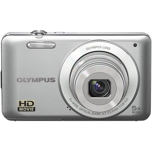 Olympus VG-120 Digital Camera (Silver)