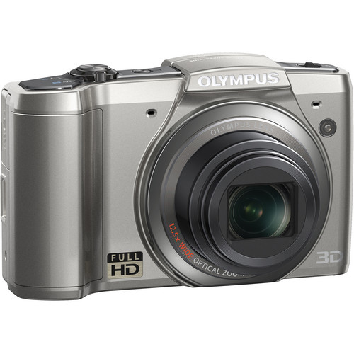 Olympus SZ-20 Digital Camera (Silver)