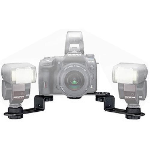 Olympus FL-BKM03 Twin Flash Bracket for the Olympus E-System Digital SLR Cameras