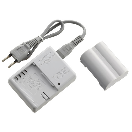 Olympus BLM-5 and BCM-5 Charger Kit (100-240V AC)