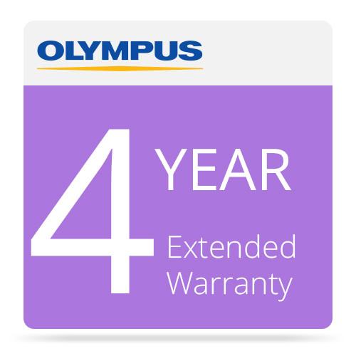 Olympus 4 Year Extended Warranty for Olympus Zuiko Digital Lenses