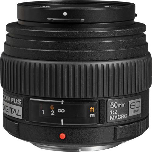 Olympus 50mm f/2.0 Macro ED Zuiko Digital Lens for Olympus Digital Cameras (Four Thirds System)