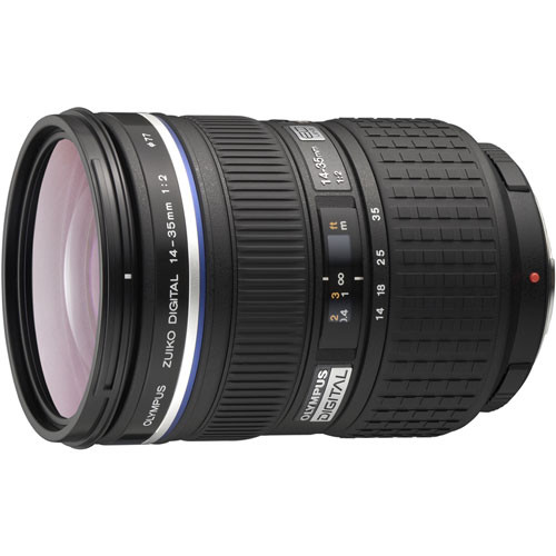 Olympus Zuiko Digital ED 14-35mm f/2.0 SWD Lens