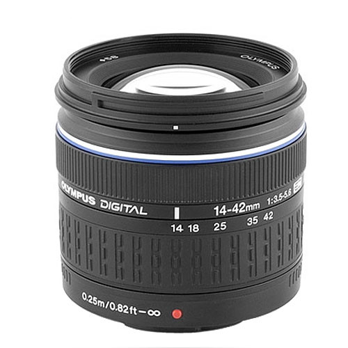 Olympus 14-42mm f/3.5-5.6 Zuiko ED Zoom Lens for Olympus Digital Cameras (Four Thirds System)