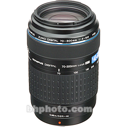 Olympus 70-300mm f/4-5.6 Zuiko ED Zoom Lens for Olympus Digital Cameras (Four Thirds System)