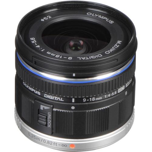 Olympus M.Zuiko Digital ED 9-18mm f/4-5.6 Lens