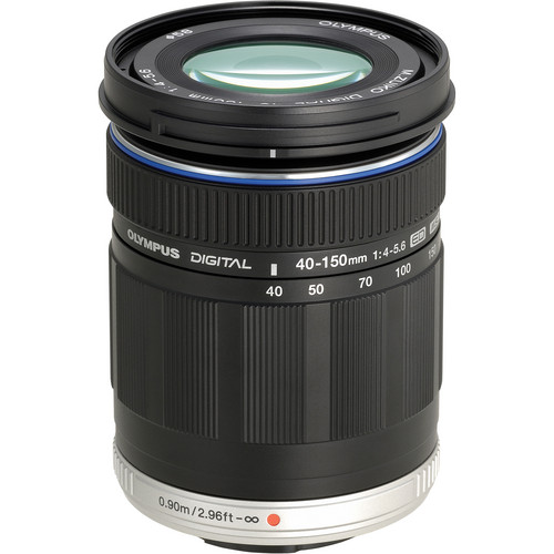 Olympus M.Zuiko Digital ED 40-150mm f/4.0-5.6 Lens (Black)