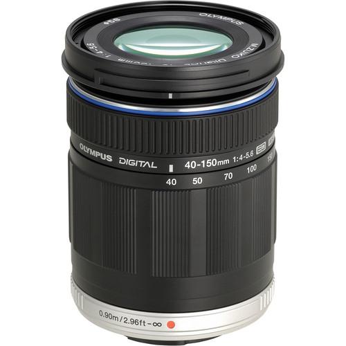 Olympus M.Zuiko Digital ED 40-150mm f/4.0-5.6 Lens (Black)