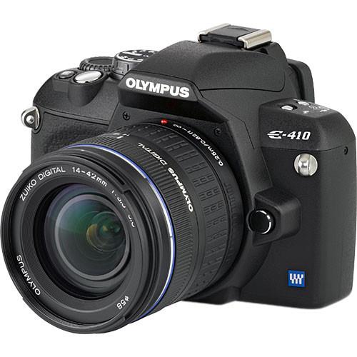 Olympus Evolt E-410 Digital Camera Kit with 14-42mm Zuiko Lens