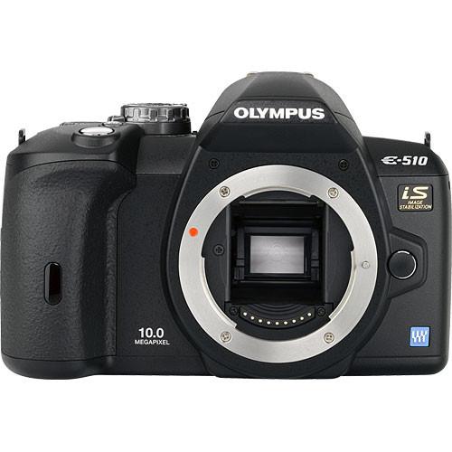Olympus Evolt E-510 Digital Camera (Camera Body)