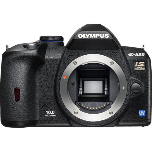 Olympus E-520 SLR Digital Camera (Camera Body)