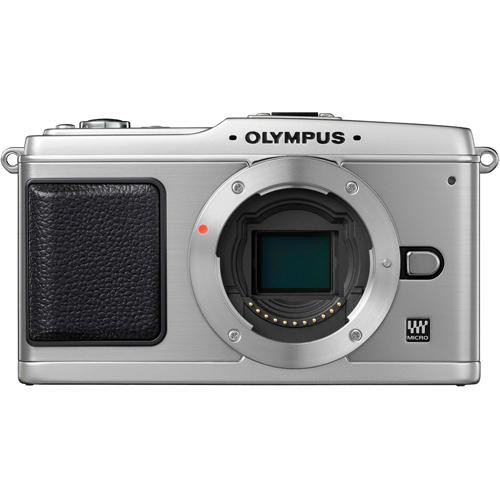Olympus E-P1 Pen Digital Camera Body (Silver)