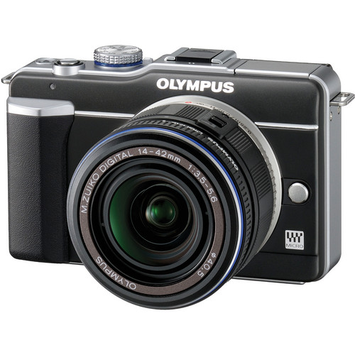 Olympus PEN E-PL1 Digital Camera (Black)