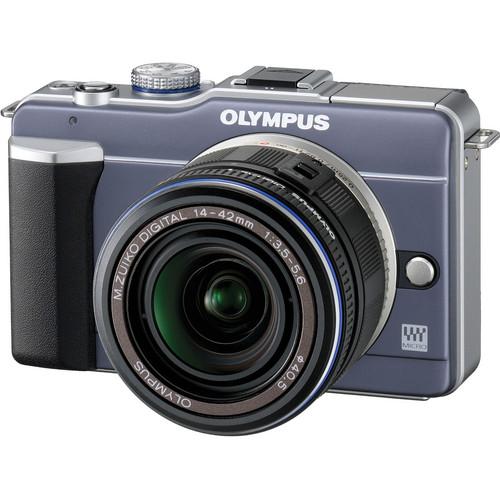 Olympus PEN E-PL1 Digital Camera (Blue)
