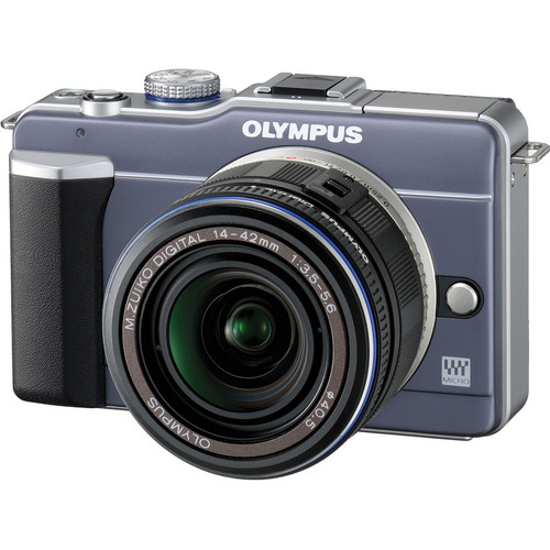 Olympus PEN E-PL1 Digital Camera (Blue)
