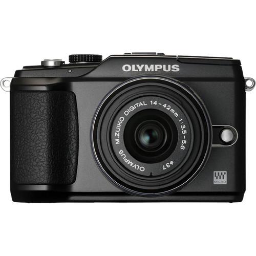 Olympus PEN E-PL2 Digital Camera (Black) W/14-42mm II Lens (Black)