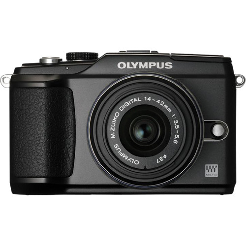 Olympus PEN E-PL2 Digital Camera (Black) W/14-42mm II Lens (Black)