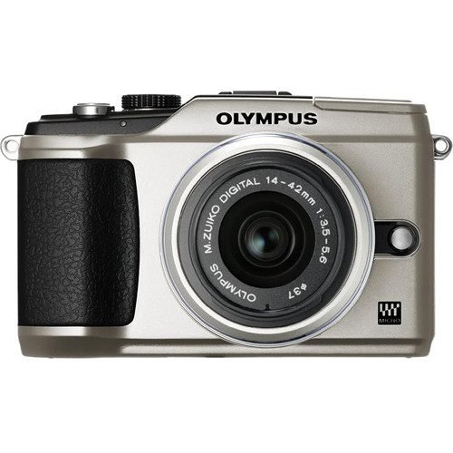 Olympus PEN E-PL2 Digital Camera (Silver) W/14-42mm II Lens (Silver)