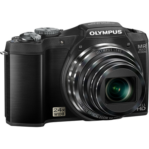 Olympus SZ-31MR iHS Digital Camera (Black)