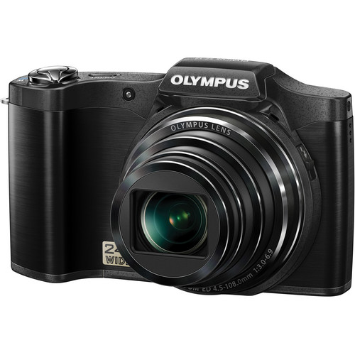 Olympus SZ-12 Digital Camera (Black)