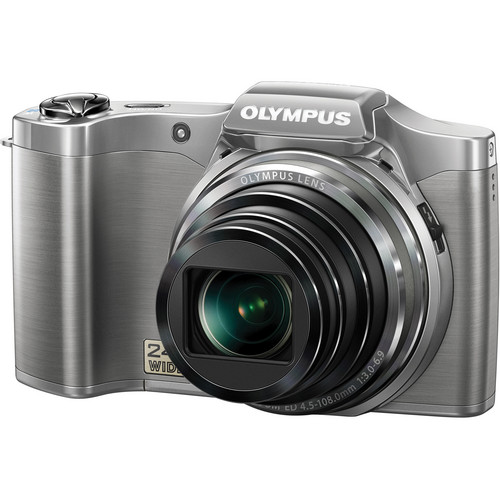 Olympus SZ-12 Digital Camera (Silver)