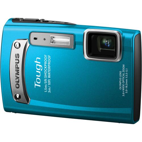 Olympus Tough TG-320 Digital Camera (Blue)