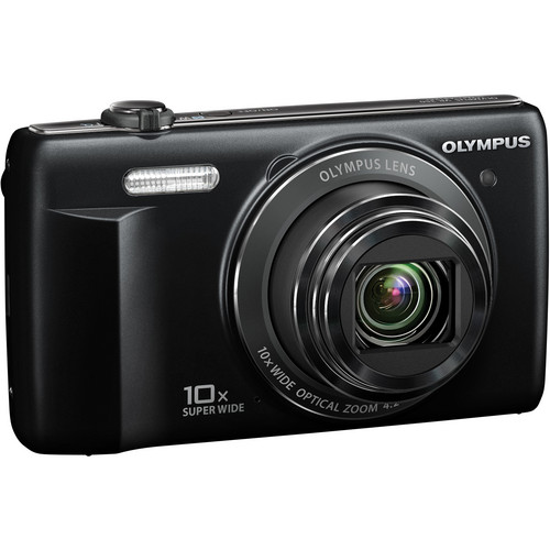 Olympus VR-340 Digital Camera (Black)