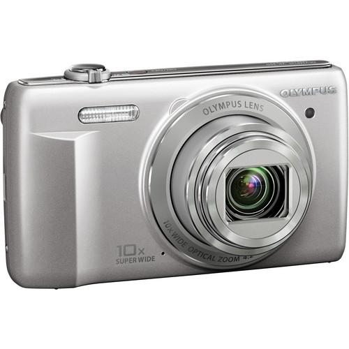 Olympus VR-340 Digital Camera (Silver)