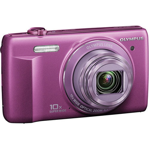Olympus VR-340 Digital Camera (Purple)