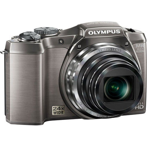 Olympus SZ-31MR iHS Digital Camera (Silver)