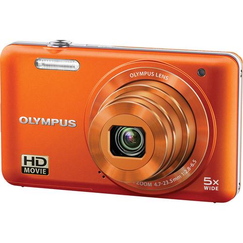 Olympus VG-160 Digital Camera (Orange)
