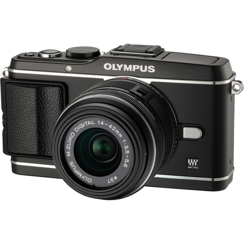 Olympus E-P3 PEN Digital Camera with 14-42mm Lens (Black)