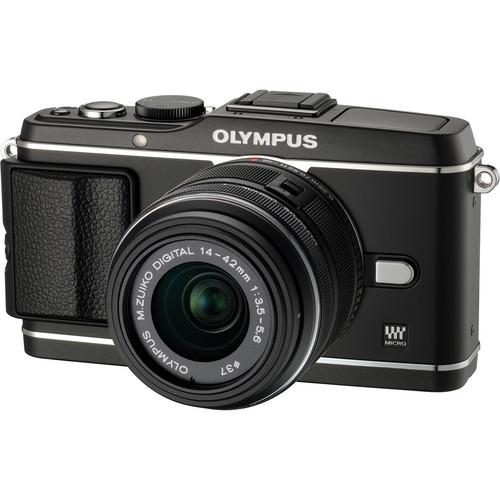 Olympus E-P3 PEN Digital Camera with 14-42mm Lens (Black)