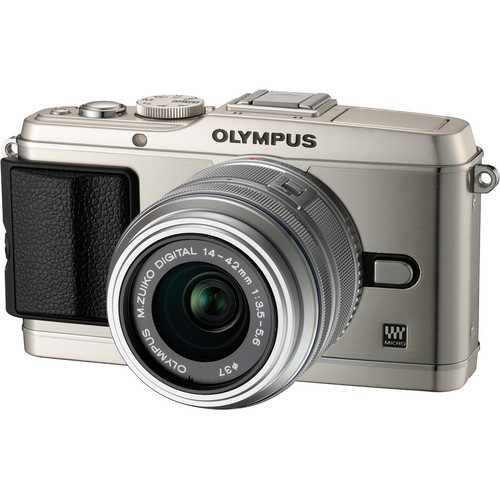 Olympus E-P3 PEN Digital Camera with 14-42mm Lens (Silver)