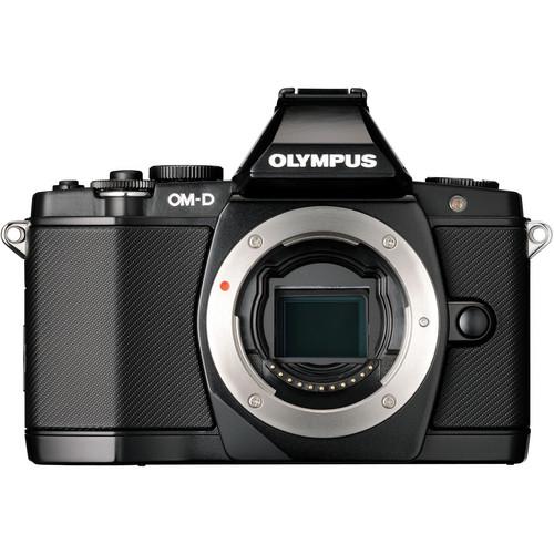 Olympus OM-D E-M5 Mirrorless Micro Four Thirds Digital Camera (Body, Black)