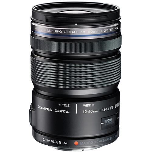 Olympus M.Zuiko Digital ED 12-50mm f/3.5-6.3 EZ Lens